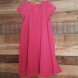 H&M Dresses - H&M Girl Pleated Dress Pink 5-6 years.